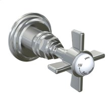 "Savina 1/2"" Wall Valve Cross Handle - Polished Chrome"