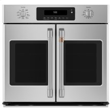 """Café 30"""" Smart French-Door Single Convection Wall Oven"""