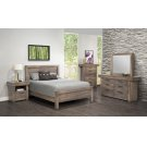 "Queen Bed w/22"" Low Footboard 64-1/2W x 52H x 88D Product Image"