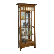 11051 ROYCROFT TWO-WAY SLIDING DOOR CURIO CABINET