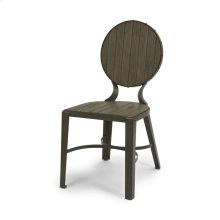 Westeria Wood and Metal Dining Chair