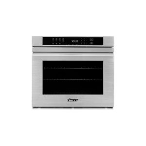 "Heritage 27"" Single Wall Oven, Silver Stainless Steel with Flush Handle Product Image"