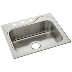"""Southhaven® Single-basin Kitchen Sink, 25"""" x 22"""" Product Image"""