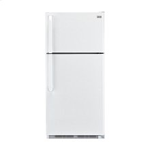 Haier 18.1-Cu.-Ft. Top Mount Refrigerator - white