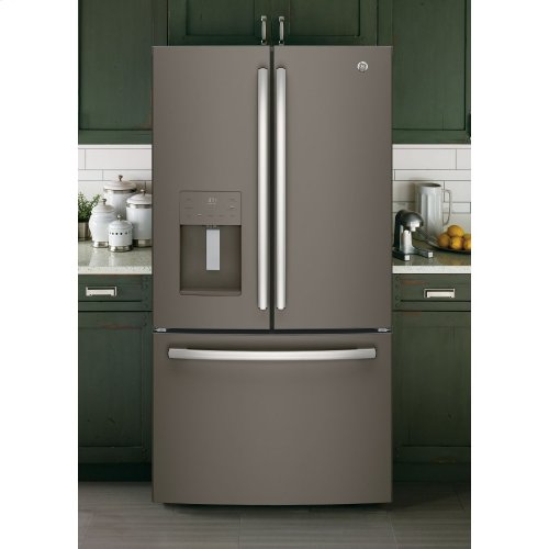 GE® ENERGY STAR® 25.6 Cu. Ft. French-Door Refrigerator