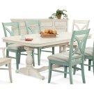 Hues Rectangular Trestle Dining Table Product Image