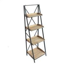 Foldable 4 Shelf