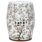 Blooming Tree Garden Stool - Flower Tree Pattern Product Image