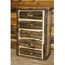 Bass Pro Dark 5 Drawer Chest Product Image