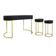 Dulani Console and Side Tables - Set of 3