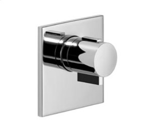xTOOL Concealed thermostat without volume control - matt black Product Image