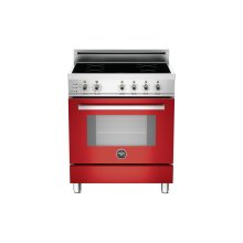 30 4-Induction Zones, Electric Self-Clean oven Red- **DISPLAY MODEL SPECIAL**