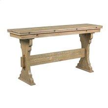 Trestle Flip Top Table