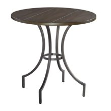 Homestead Primitive Round Iron Lamp Table