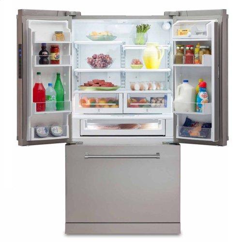 "36"" French Door Refrigerator with Bottom Freezer"