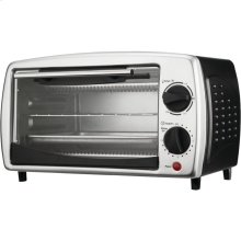 4-Slice Toaster Oven & Broiler (Black)