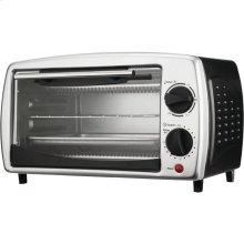 4-Slice Toaster Oven & Broiler (Black)