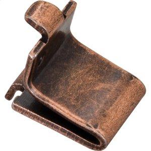 Antique Copper Shelf Clip Retail Pack. 20 Clips Per Pack Product Image