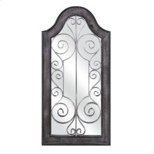 Riad Wooden Frame Mirrored Wall Decor