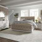 Queen Uph Sleigh Bed, Dresser & Mirror, Chest, NS Product Image