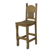 "30"" Barstool W/Wood Seat"