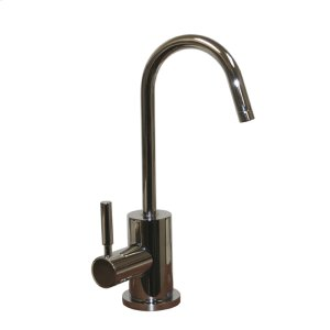 Point of Use cold drinking water faucet with a gooseneck spout. Product Image