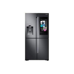 28 cu. ft. Family Hub™ 4-Door Flex™ Refrigerator in Black Stainless Steel Product Image
