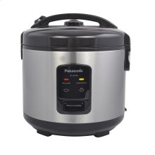 10 Cup (uncooked) Automatic Rice Cooker - Stainless Steel / Black - SR-JN185
