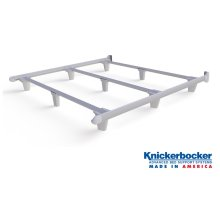 White Cal-King EmBrace™ Bed Frame