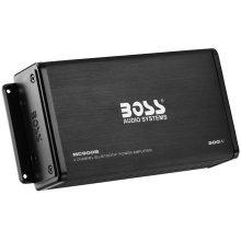 """500W 4 Channel Full Range, Class A/B Amplifier Dim:7.8""""L 3.8""""W 1.75""""H"""