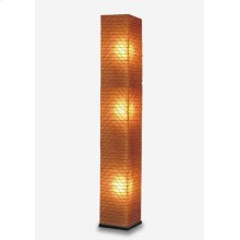 (LS) Wave Square Standing Lamp (L) (13x13x77)