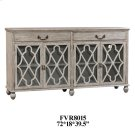 Hawthorne Estate 2 Drawer 4 Door Fretwork Sideboard Product Image