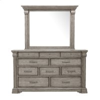 Madison Ridge Framed Dresser Mirror in Heritage Taupe Product Image