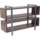 Harrison Rustic Wood Grain Finish TV Stand and Media Console Product Image