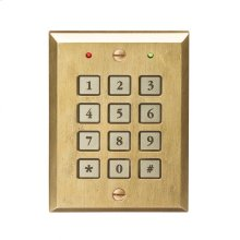 Keypad Entry System Silicon Bronze Brushed