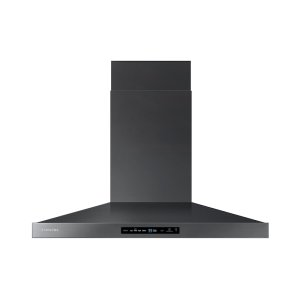 "36"" Wall Mount Hood in Black Stainless Steel Product Image"