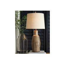 Terracotta Table Lamp (1/CN)