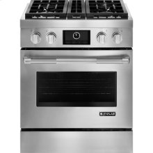"""Pro-Style® 30"""" Dual-Fuel Range with MultiMode® Convection, Pro-Style® Stainless Handle"""
