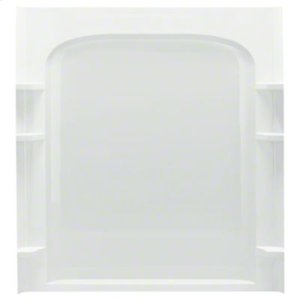 """Ensemble™ 60, Series 7223, 60"""" x 72-1/2"""" Curve Alcove Shower - Back Wall - White Product Image"""
