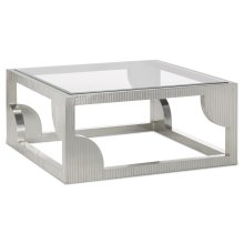 Morneau Silver Cocktail Table