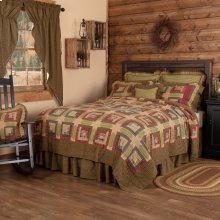 Tea Cabin Luxury King Quilt 120Wx105L