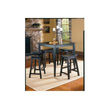 5-Piece Pack Counter Height Set, Black