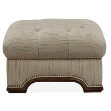 Accent Ottoman - (M10457 Ivory)