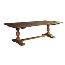 Milton Double Pedestal Trestle Table