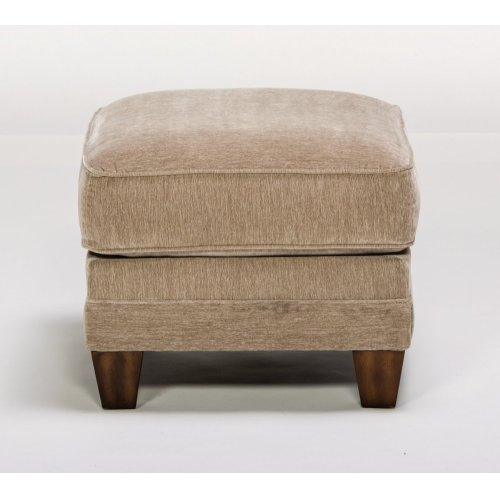 Lennox Fabric Ottoman