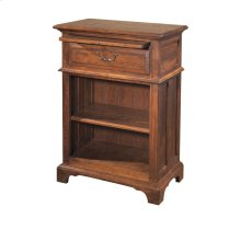 Nightstand with One Drawer and One Shelf