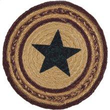 Potomac Jute Trivet Stencil Star 8
