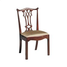 CONNECTICUT POLISHED MAHOGANY SIDE CHAIR
