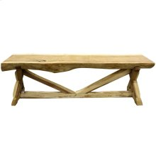 BALI CONSOLE TABLE - LARGE Natural Finish on East Indian Walnut Wood