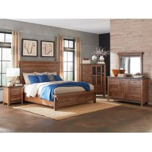 Taos Queen Storage Bed